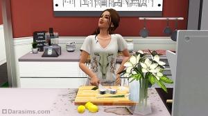 Дорогая плита и качественная еда поддерживают хорошее настроение сима