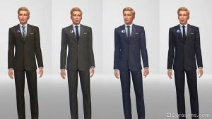 Мужская одежда политиков на 5-6 уровнях карьеры