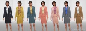 Женский костюм политика в награду за 6 уровень