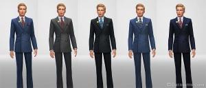 Мужской костюм на высоких ступенях политики