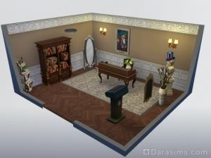 Стилизованный кабинет Представительный вид