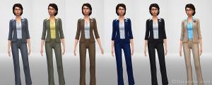 Женская одежда политиков на 5-6 уровнях карьеры