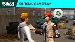 Официальный трейлер игрового процесса «The Sims 4 Экологичная жизнь»