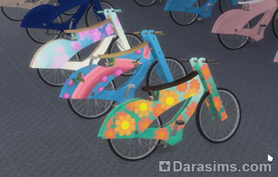 Велосипед в Симс 4 Экологичная  жизнь