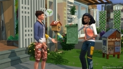 Агитация соседей в «Симс 4 Экологичная жизнь»