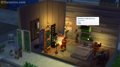 Пожарные в Симс 4