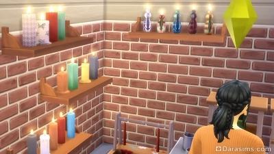 Изготовление свечей в Симс 4 Экологичная жизнь