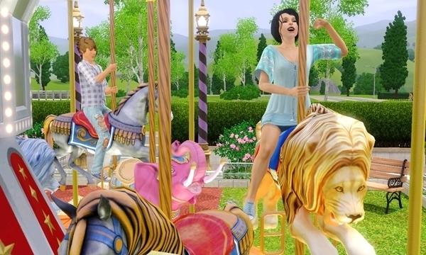 Обзор коллекции «Карусель «Мир чудес» из The Sims 3 Store