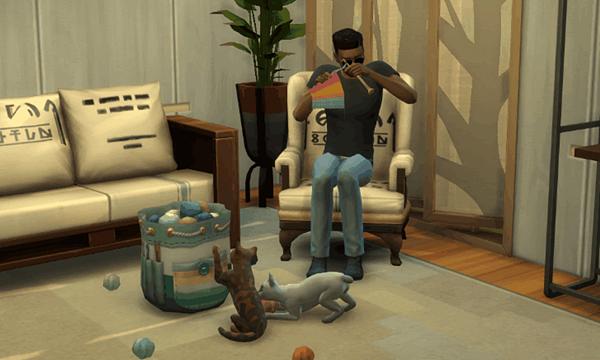 Доскональный разбор каталога от сообщества The Sims 4: Вязание!