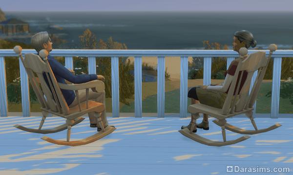 Разбор каталога от сообщества The Sims 4: кресло-качалка!