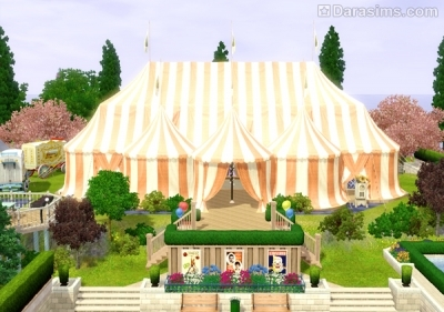 Цирковой шатер