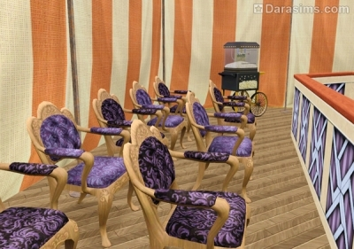 Зрительный зал в шатре