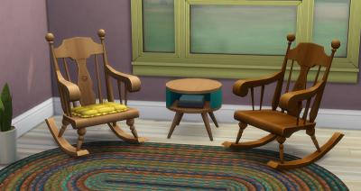 Кресла-качалки в каталоге Симс 4 Нарядные нитки