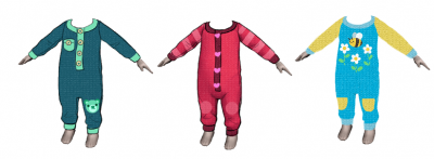 Вязаные ползунки для младенцев
