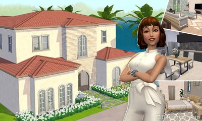 второй этаж в The Sims mobile