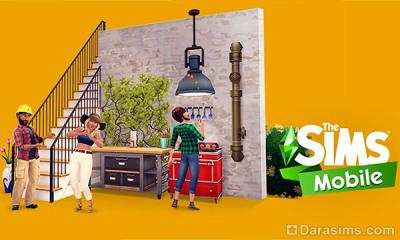 Обновление в The Sims mobile «Крыша едет»