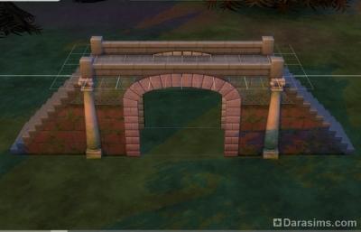 мост-тоннель в симс 4