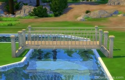 низкий мост в симс 4