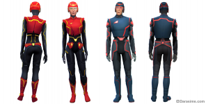 костюм научно-фантастических супергероев в Симс 4 Путь к славе