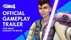 The Sims 4 Star Wars: Путешествие на Батуу | Официальный трейлер игрового процесса
