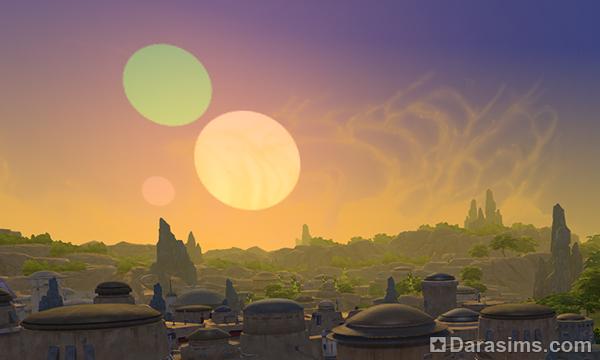 Обзор мира Батуу из игрового набора The Sims 4 Star Wars: Journey to Batuu