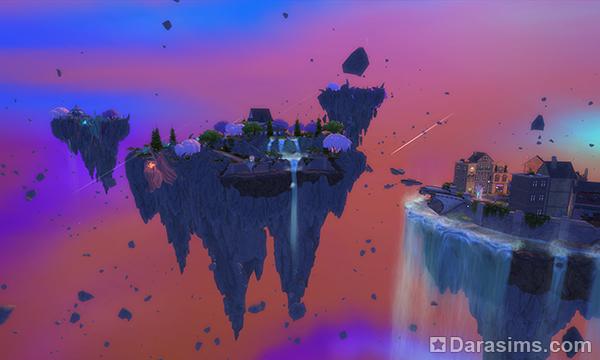 Обзор Волшебного мира из игрового набора «The Sims 4 Мир магии»
