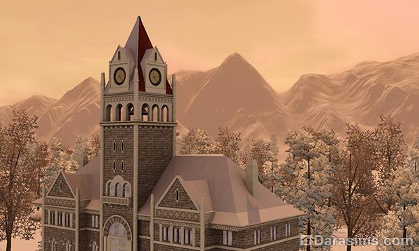 Обзор города Мунлайт Фолс в «Симс 3 Сверхъестественное»