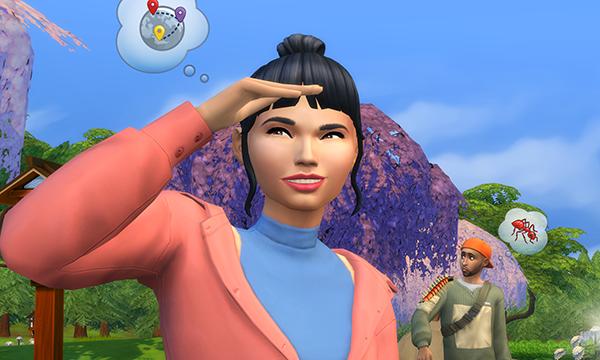 Отправьтесь в отпуск на снежные просторы в The Sims 4!