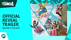 Официальный трейлер игрового процесса «The Sims 4 Снежные просторы»