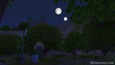 Ночной Батуу в Симс 4 Звездные войны Путешествие на Батуу