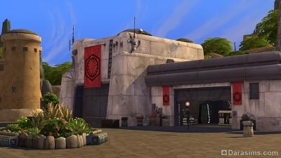 База Первого Ордена в Симс 4 Путешествие на Батуу