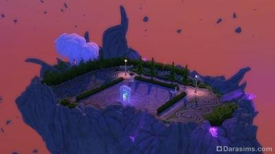 Остров Дуэлей в Волшебном мире Симс 4