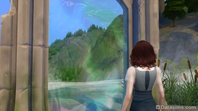 Портал в Волшебный мир в Симс 4 Мир магии