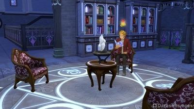 Неукротимый мудрец Моргин Эмбер в Симс 4 Мир магии