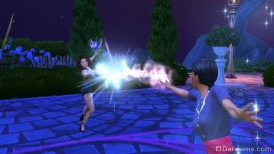 Волшебная дуэль в Симс 4 Мир магии