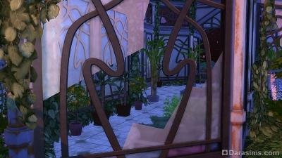 Заброшенная оранжерея в саду Волшебного мира