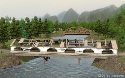 Мосты в Мунлайт Фолс в The Sims 3 Supernatural