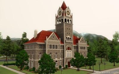 Городской суд в Мунлайт Фолс в The Sims 3 Сверхъестественное