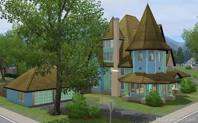 Дома в Мунлайт Фолс в The Sims 3 Сверхъестественное