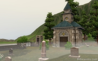 Кладбище в Мунлайт Фолс в Симс 3 Сверхъестественное