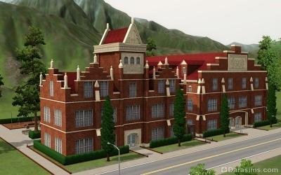 Школа в Мунлайт Фолс