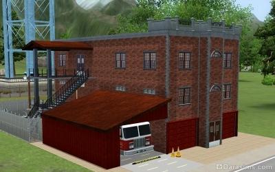 Пожарная станция в Мунлайт Фолс