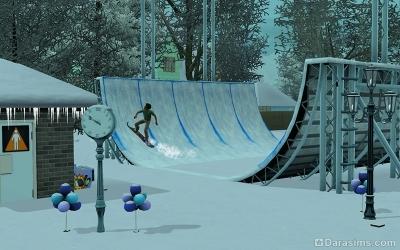 Зимний фестиваль в Зловещем парке Мунлайт Фолс