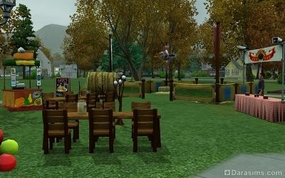 Осенний фестиваль в Зловещем парке Мунлайт Фолс