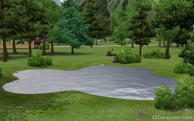 Парк Рай для старого рыбака в Мунлайт Фолс
