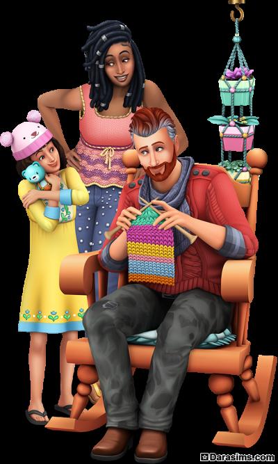 Рендер для каталога в «The Sims 4 Нарядные нитки»
