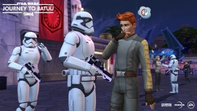Патруль  Первого Ордена в The Sims 4 Star Wars Путешествие на Батуу