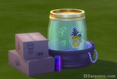 награда в sims 4 за вечеринку соков