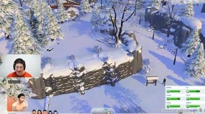 Обзор стрима по «Симс 4 Снежные просторы»