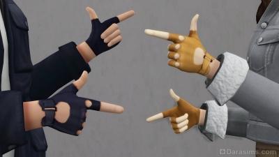 Новые перчатки из работы законодателя стиля